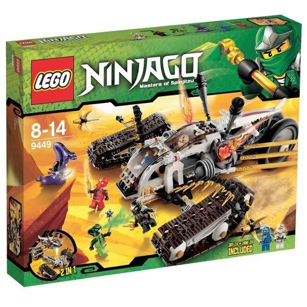 Lego Ninjago 9449 Pojazd Ultradźwiękowy