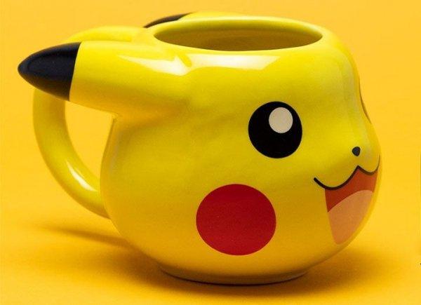 Pokemon - Kubek Pikachu 3D