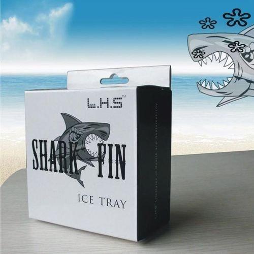 Silikonowa forma na lód - płetwa rekina