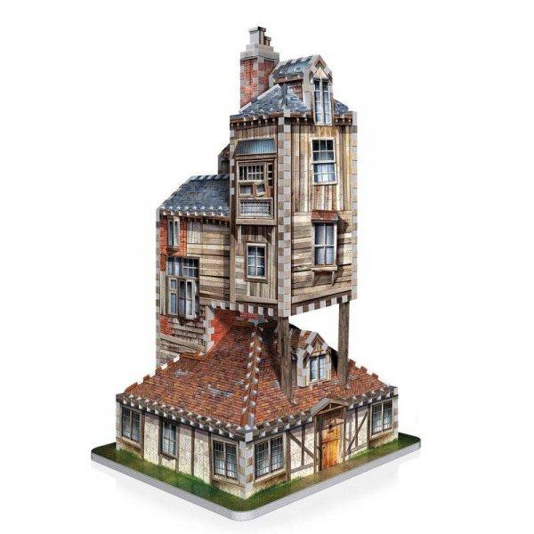 Harry Potter - Puzzle 3D Dom Weasleyów - Nora 415 el.