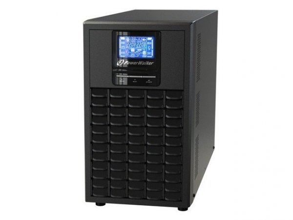 Power Walker 3000 on-line (3000VA/2400W) 6X IEC OUT, USB/RS-232, LCD, Tower