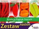 Kolekcja Papryk Ostrych (zestaw 4 odmian) nasiona