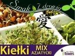 Nasiona na Kiełki - Mieszanka azjatycka 250g opakowanie XXL