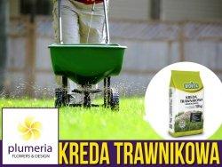 Kreda trawnikowa granulowana na 160m2. Nawóz do trawników. 10kg