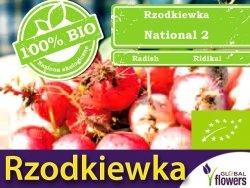 BIO Rzodkiewka National 2 5g