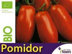 BIO Pomidor pod osłony S. MARZANO 2  nasiona ekologiczne 0,5g