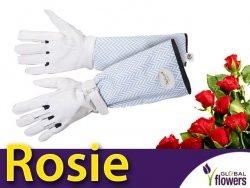 Piękne Rękawice Ogrodnicze - Rosie - do róż i kłujących krzewów.