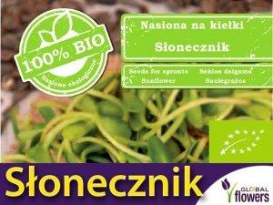 BIO Słonecznik - nasiona na kiełki ekologiczne 40g