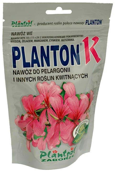 PLANTON® K nawóz do pelargonii i innych roślin kwitnących. 200g