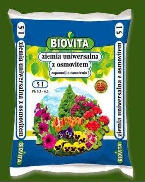 Ziemia uniwersalna do kwiatów z osmovitem 5L