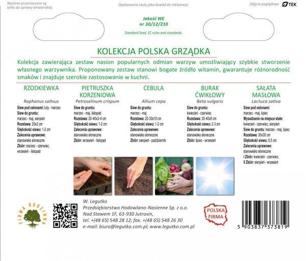 Polskie warzywa nasiona