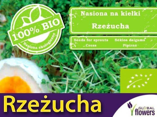 BIO Rzeżucha - nasiona na kiełki 30g