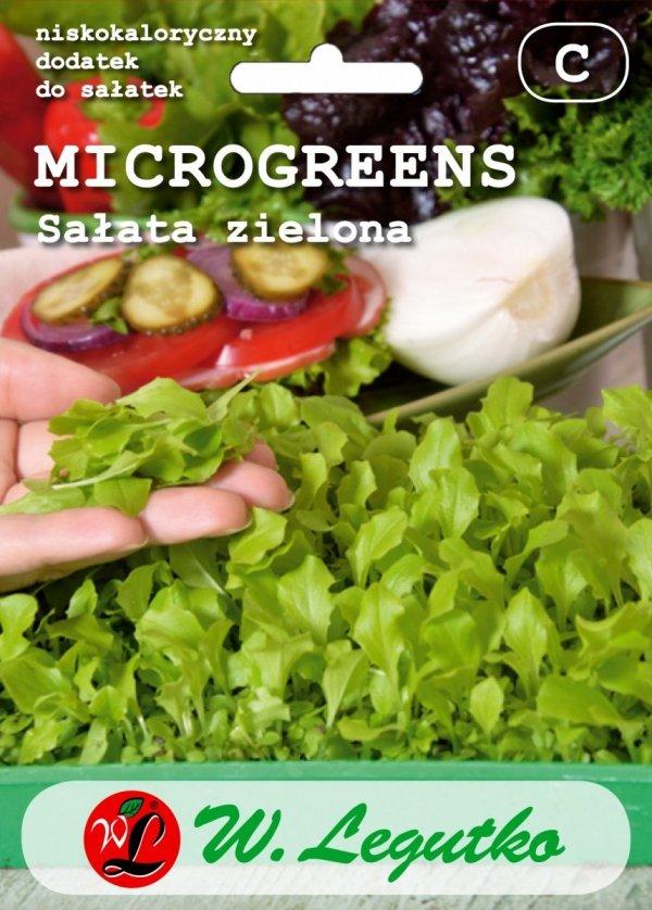Mikroliście Sałata zielona