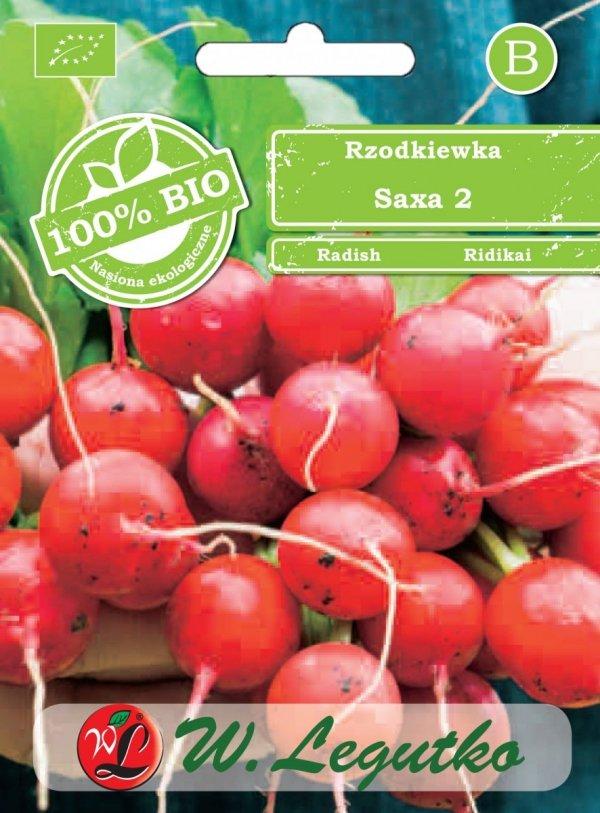 Rzodkiewka Saxa ekologiczne nasiona