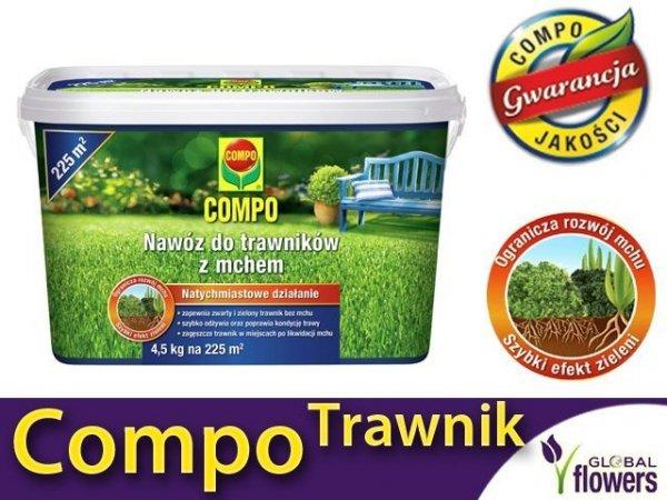 Compo Nawóz do trawników z mchem. Na 225 m2 4,5kg