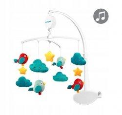 Karuzela do łóżeczka z pozytywką CLOUDS&BIRDS BABY ONO kod 626