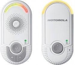 Elektroniczna niania audio MBP 8 z lampką - do gniazda elektrycznego MOTOROLA