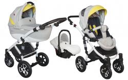 wózek wielofunkcyjny TIRSO  i TIRSO ECCO  (gondola+spacerówk + fotelik ) TUTEK