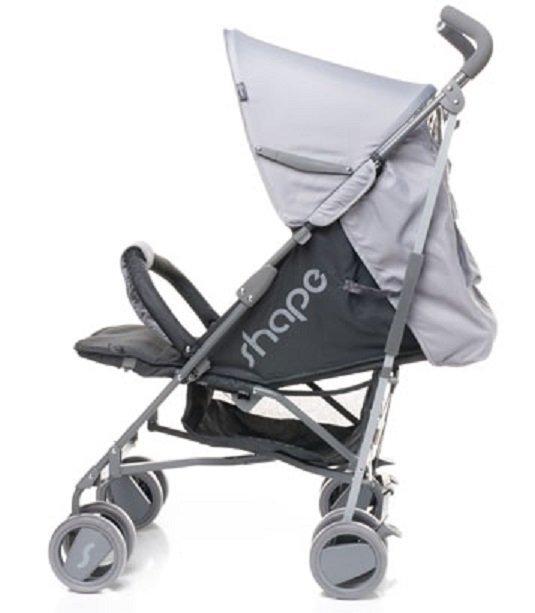 Lekki wózek spacerowy typu parasolka SHAPE  firmy 4 BABY
