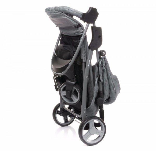 wózek spacerowy RAPID UNIQUE 2018 + uchwyt + folia 4 BABY