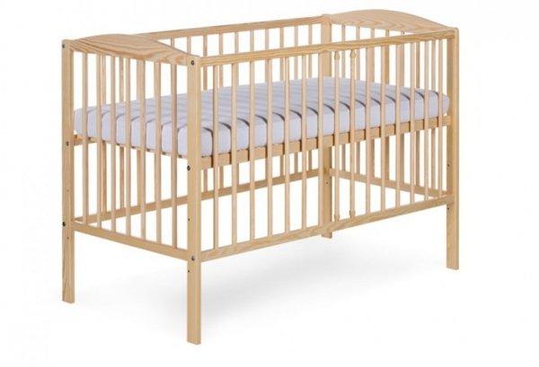 łóżeczko RADEK II 120/60 SOSNA  ( opcja szuflada) KLUPŚ