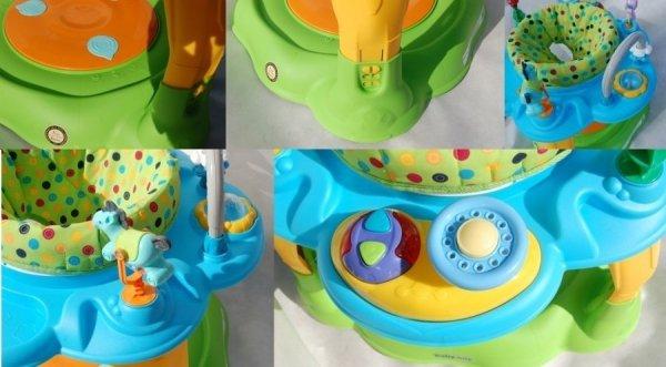 Stolik wielofunkcyjny BABY MIX BG-1915 GREEN-BLUE