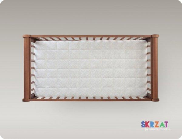 łóżeczko GALA  ORZECH 120/60 cm