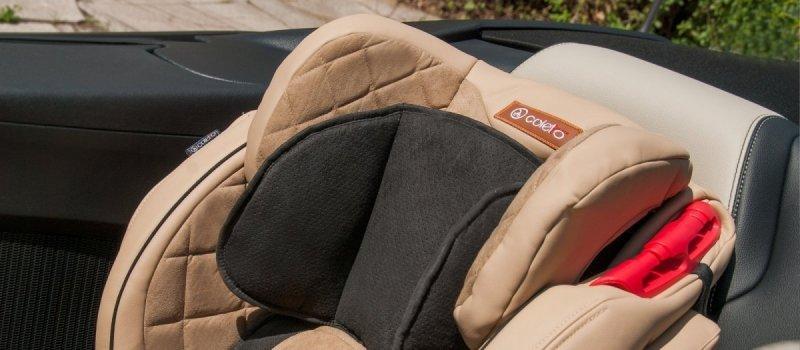 SPORTIVO only  NEW ISOFIX  ECOSKÓRA  fotelik samochodowy 9-36kg COLETTO