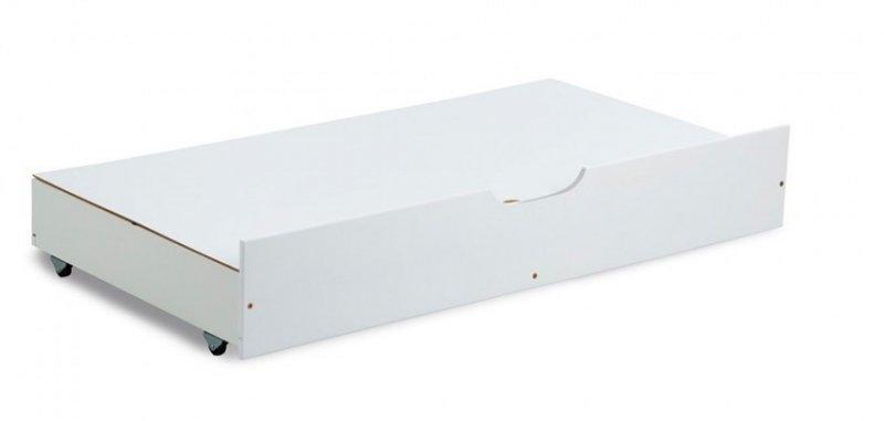 pojemnik pj120 ( szuflada + przykrycie) do łóżeczka 120/60 kolor  BIAŁY Klupś