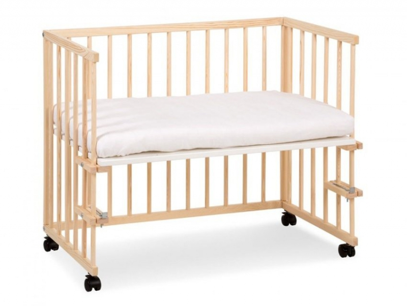 łóżeczko dostawka PICCOLO DUO  SOSNA KLUPŚ