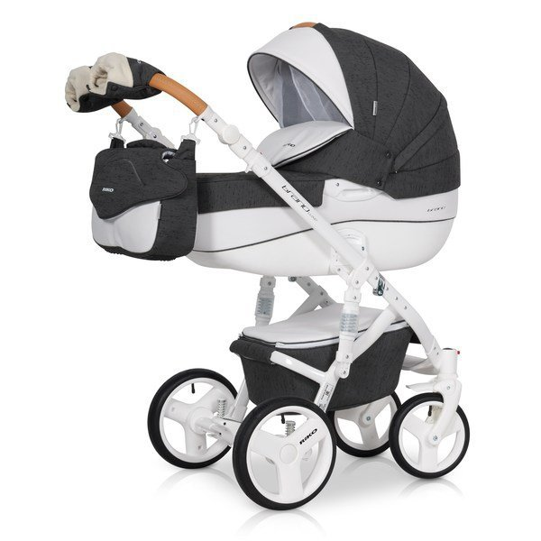 wózek wielofunkcyjny BRANO LUXE ( gondola+ spacerówka) RIKO