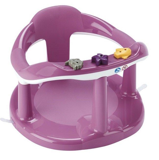 Krzesełko do kąpieli  AQUABABY THERMOBABY  kolor PINK