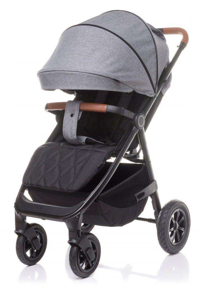 STINGER  AIR (koła pompowane)  KOLEKCJA 2021 wózek spacerowy do wagi dziecka 22 kg firmy 4BABY