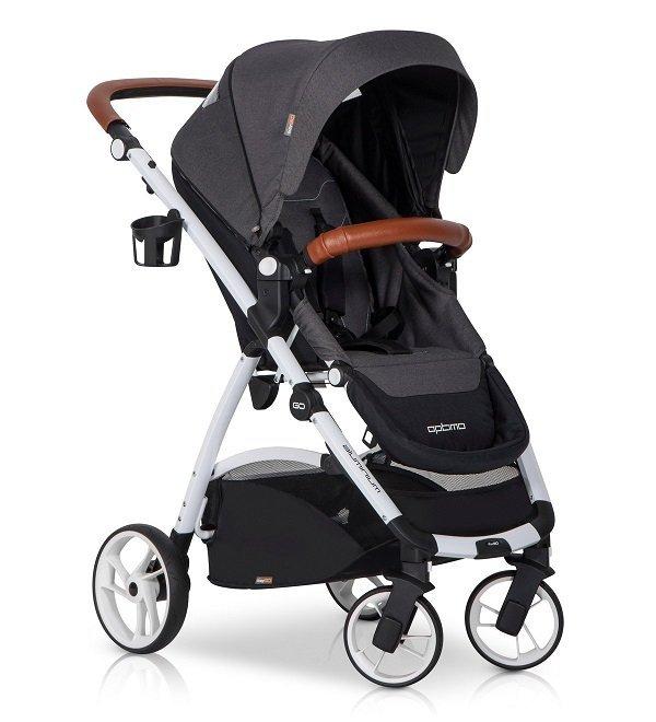 wózek wielofunkcyjny  OPTIMO 2018 ( gondola+spacerówka + fotelik + adaptery) EASYGO