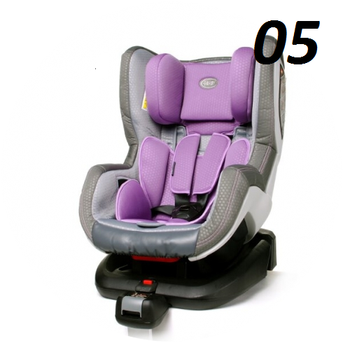 fotelik NEO FIX  ISOFIX 0-18 KG kolory 4BABY