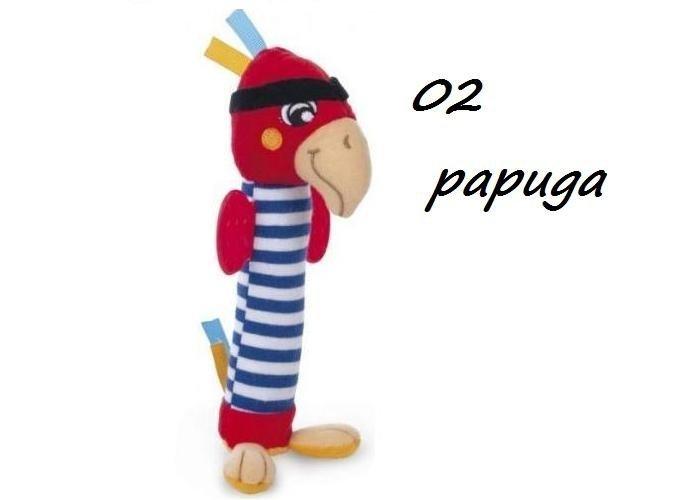 """Pluszowa zabawka z piszczałką z kolekcji """"Piraci"""" PAPUGA. MAŁPKA canpol"""