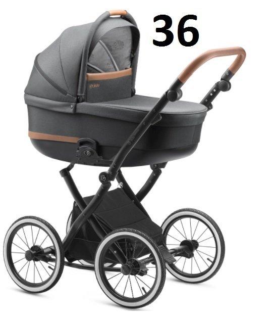 BARTATINA 2021 koła 12, 14 cali  (stelaż+ gondola + spacerówka + fotelik Kite jedo ) + dodatki JEDO