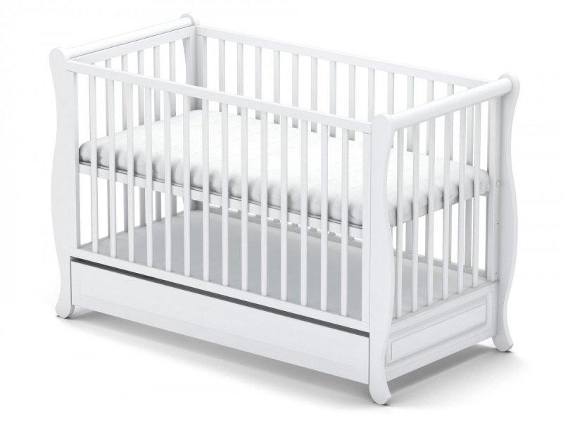 łóżeczko GALA BIALA  + szuflada  120/60 cm