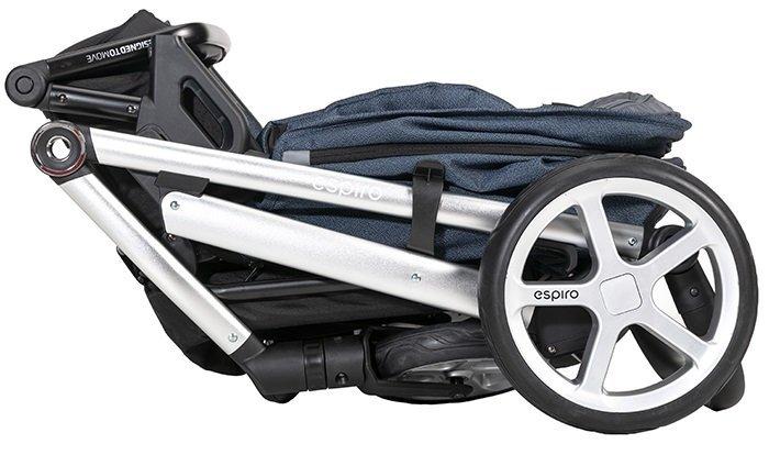 Wózek 2w1 wielofunkcyjny ESPIRO Next MULTICOLOR  new KOLEKCJA  2021 ( koła żelowe)+ SZEROKIE WYPOSAŻENIE DODATKOWE