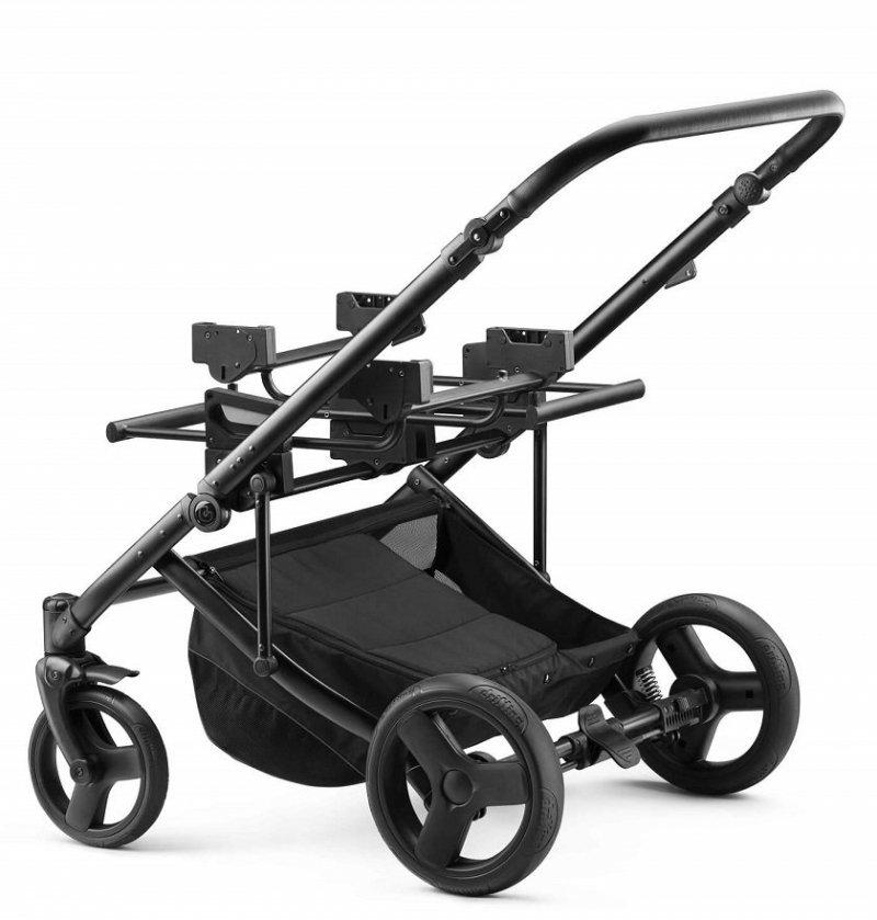 2021 wózek bliżniaczy DUO JEDO  (2 gondole+2 spacerówki+2 foteliki KITE) JEDO