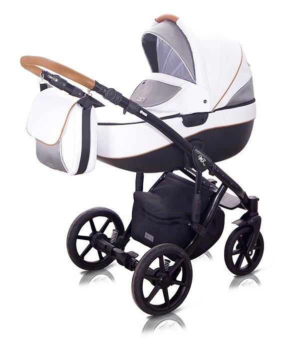 2020 Castello wózek głęboko-spacerowy + fotelik + extradodatki Milu Kids