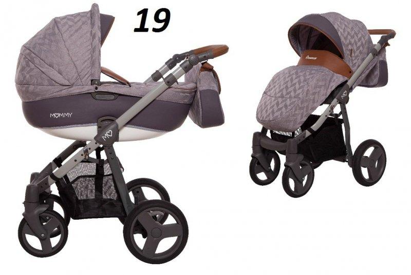 Mommy SUMMER wózek wielofunkcyjny ( gondola+spacerówka ) babyactive