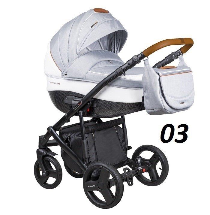 FLORINO NEW 3w1  ( gondola+ spacerówka + fotelik kite  ) NOWOŚĆ COLETTO