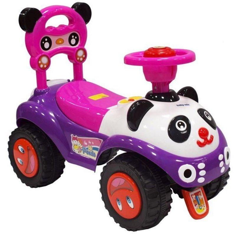 Jeździk pojazd  PANDA RÓŻOWA BABY MIX 7601