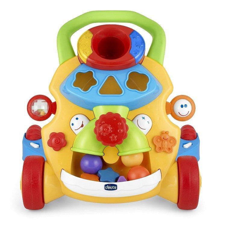 Grający. muzyczny  pchacz Chicco (żółty)