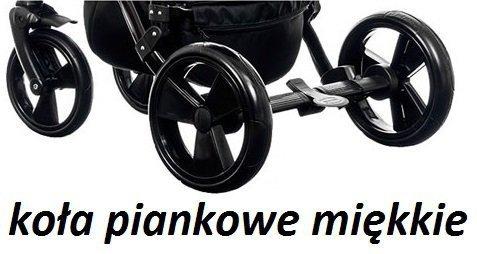 wózek MAGNETICO 2W1 ( gondola+spacerówka) PARADISE BABY