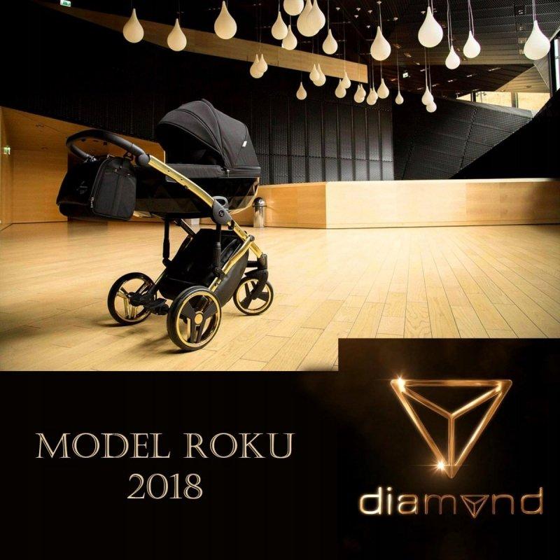 wózek 2w1 DIAMOND S LINE JUNAMA TAKO