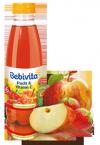 Bebivita Sok Jabłko Truskawka wit C od 6m 500ml