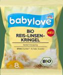 Babylove Bio Chrupki Z Soczewicy i Ryżu 8m 30g