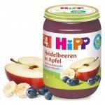 HIPP BIO 100% Owoce Jagody Jabłka 190g 4m